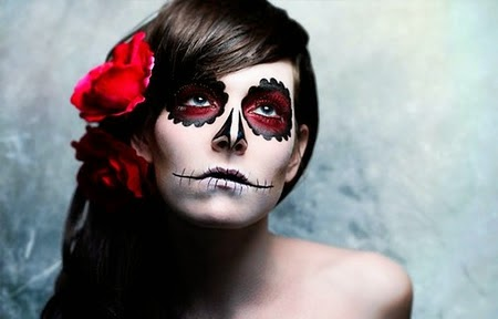 maquiagem para festa de halloween feminina