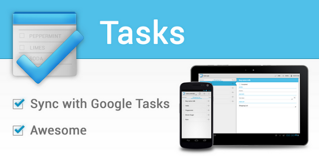 Tasks For Android Lets You Sync With Google tasks