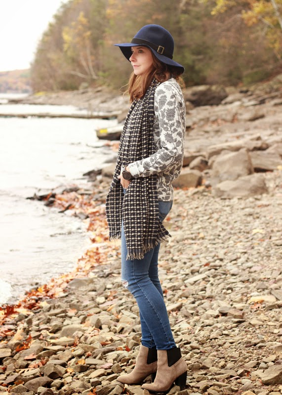 The Steele Maiden: Fall accessories Sole Society hat and scarf
