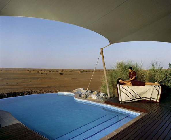Timeless Spa at Al Maha Desert Resort, Dubai (United Arab Emirates) - Best Luxury Safari Spa