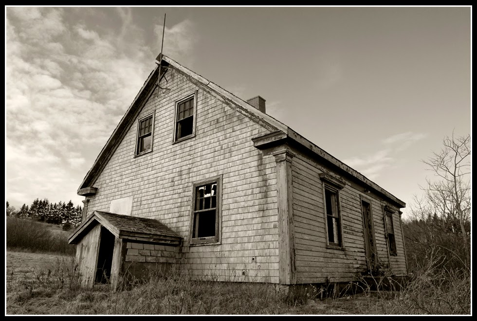 Nova Scotia; House; Old House; Abandoned