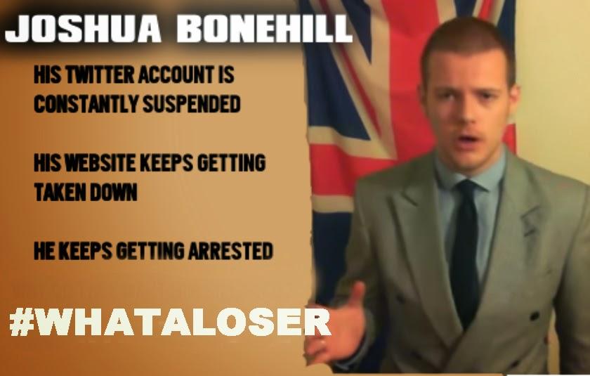 Joshua Bonehill - what a loser