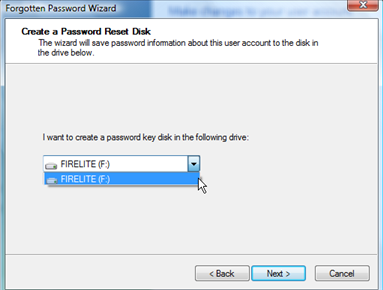 Cara Membuat Password Reset Disk Windows 7
