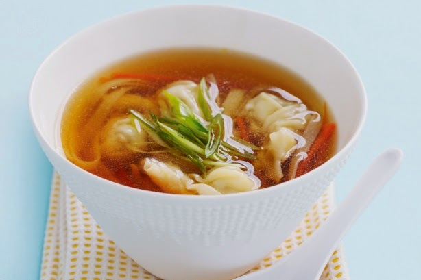 slow cooker chicken wonton soup