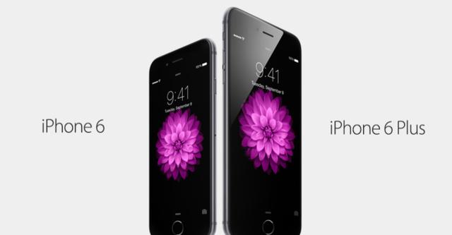 Apple chính thức công bố bộ đôi iPhone 6 và iPhone 6 Plus