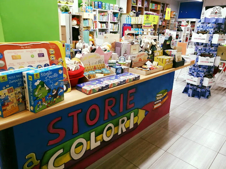 Storie a Colori - Via Tre Venezie 18 - 05100 TERNI Tel: 0744/427666  Mail: info@storieacolori.it