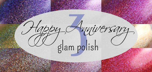Glam Polish Anniversary Ultra Holos