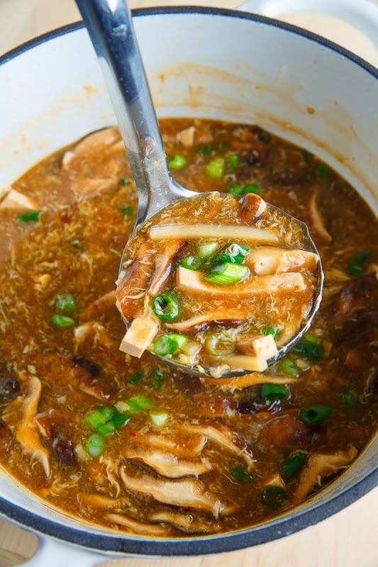 Quick and Easy Chinese Hot and Sour Soup on Closet Cooking