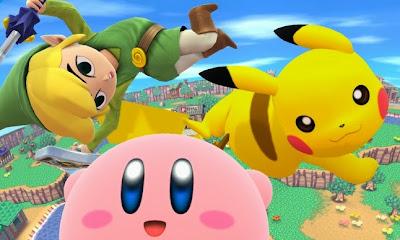 toon link kirby pikachu super smash brothers wii u