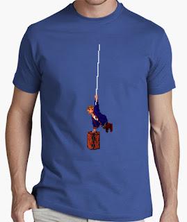 Camiseta Monkey Island guybrush mazmorra