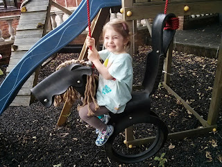 eldest loves horse swing