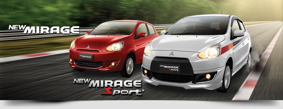 Harga Dan Spek New Mitsubishi Mirage