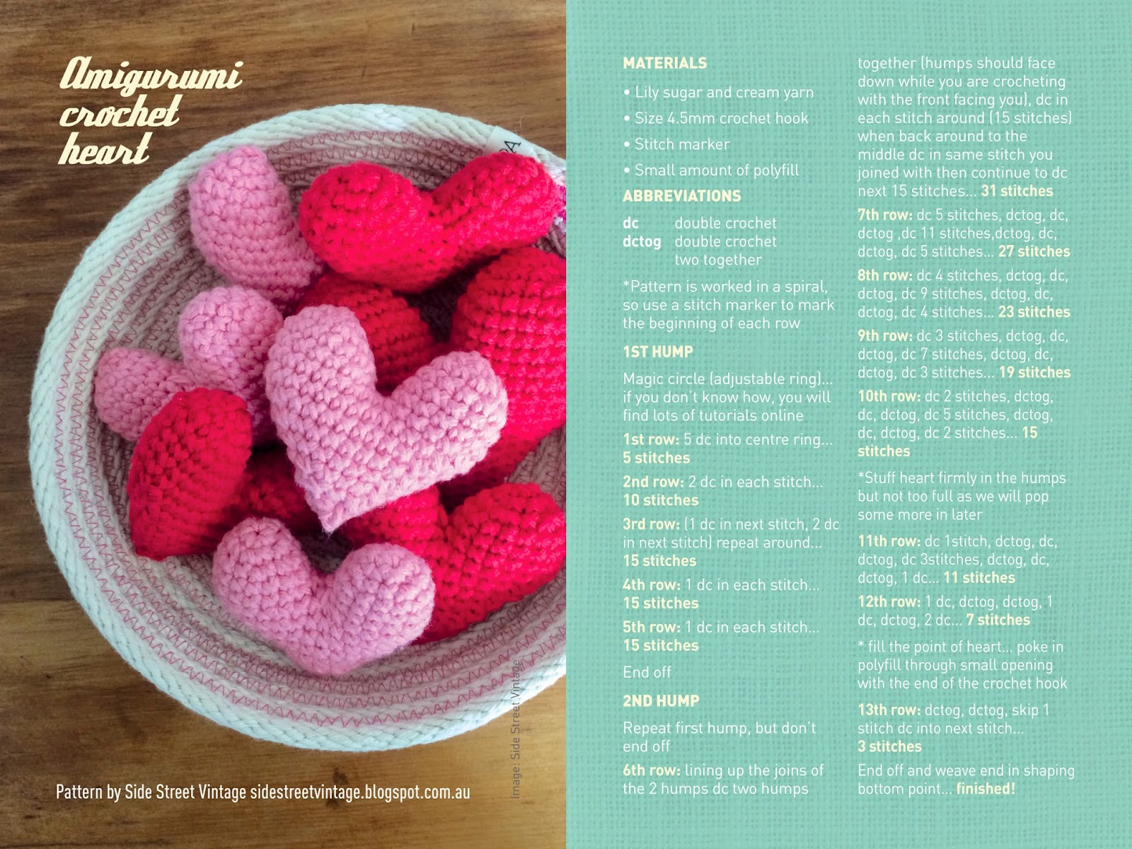 Brisstyle free amigurumi crochet heart pattern enjoy and dont forget to take images of your creations and share them with us via our facebook and instagram accounts bankloansurffo Images