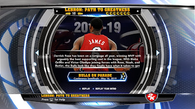 NBA 2K14 LeBron: Path To Greatness Portraits Mod
