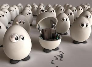 Funny 3D Egg Images