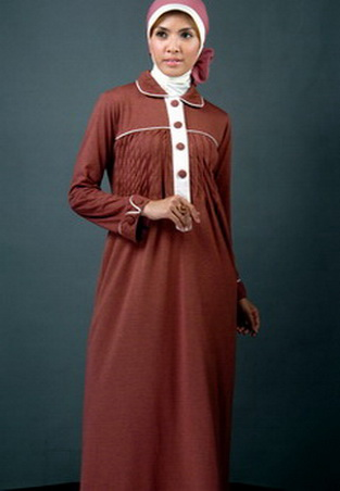 Gambar Baju Gamis Modern 208 - Baju Gamis Modern