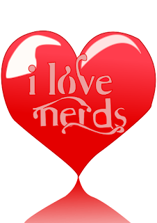 """I love nerds vector"" by Party Pop - Own work. Licensed under CC BY-SA 3.0 via Wikimedia Commons - https://commons.wikimedia.org/wiki/File:I_love_nerds_vector.svg#/media/File:I_love_nerds_vector.svg"