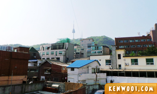 namsan guest house view