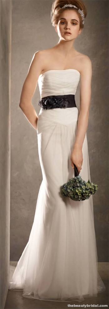 Jf floral couture inspired by vera wang white by vera for Vera wang rose wedding dress