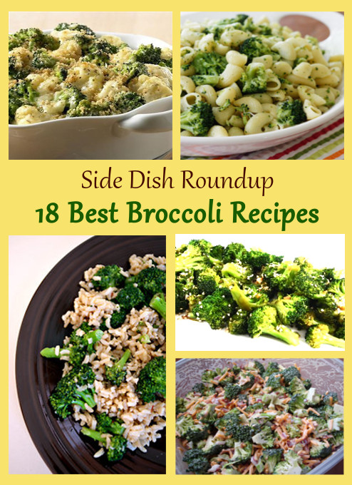 18 best broccoli side dish recipes