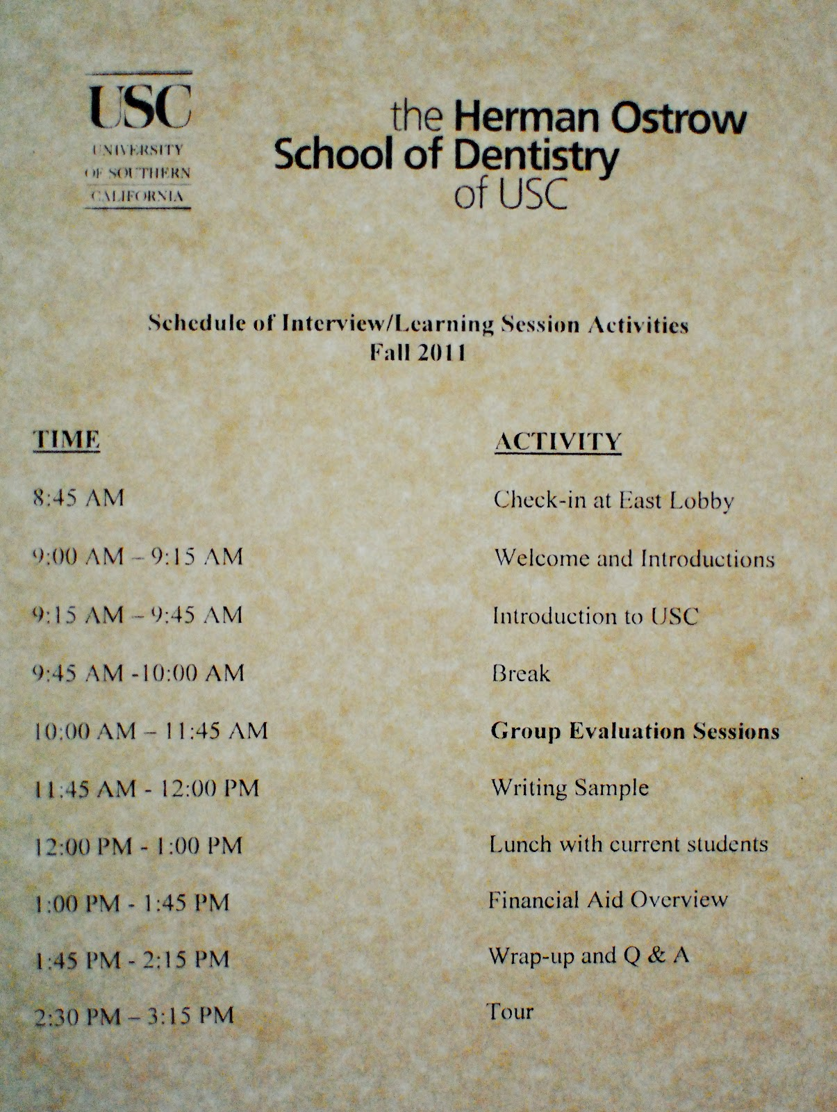 usc dental school interview mirror and explorer a dental in my opinion the most terrifying part of the interview process was the financial aid session this is the holy crap even if i get accepted into dental
