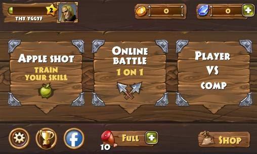 Archers clash