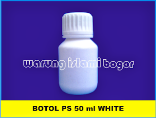 Botol PET PS 50 ml White