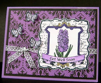Our Daily Bread Designs, Hyacinth, Happy Birthday