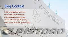 widyatama blog contest