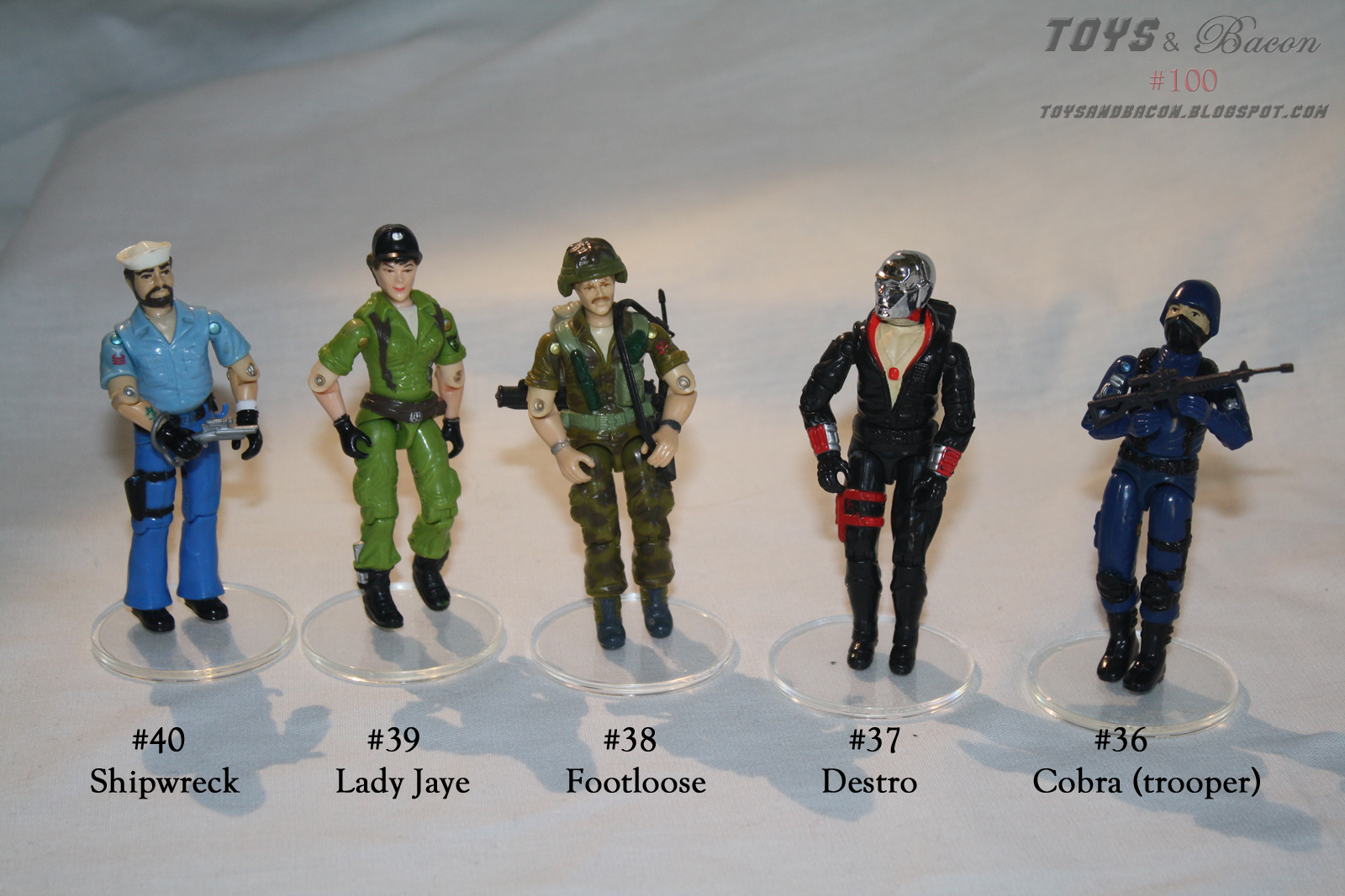 1988 gi joe hasbro bases stands