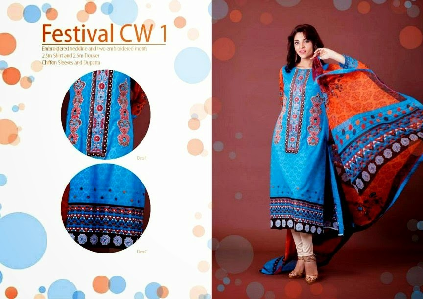 Designer Summer Lawn Collection 2014