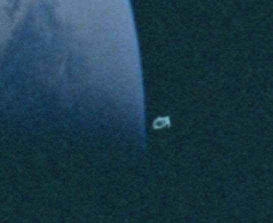 Huge UFO Caught Near Apollo 10, UFO Sighting News