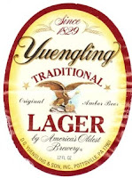 Yuengling Traditional Lager bottle label