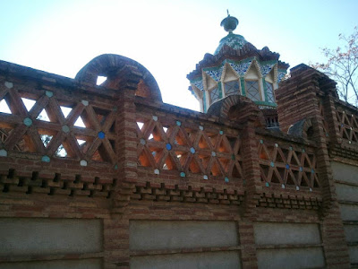 Güell Pavilions in Barcelona