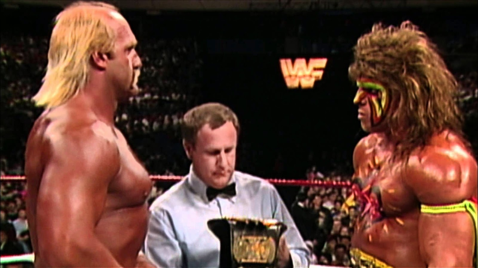 Hulk Hogan Vs Ultimate Warrior Wrestlemania 6 | www ...