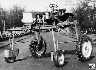 Колесный трактор ХТЗ Т-25К
