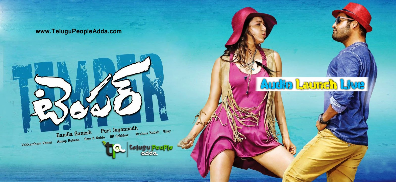 Temper Audio Launch Live | Jr.NTR | Kajal Agarwal