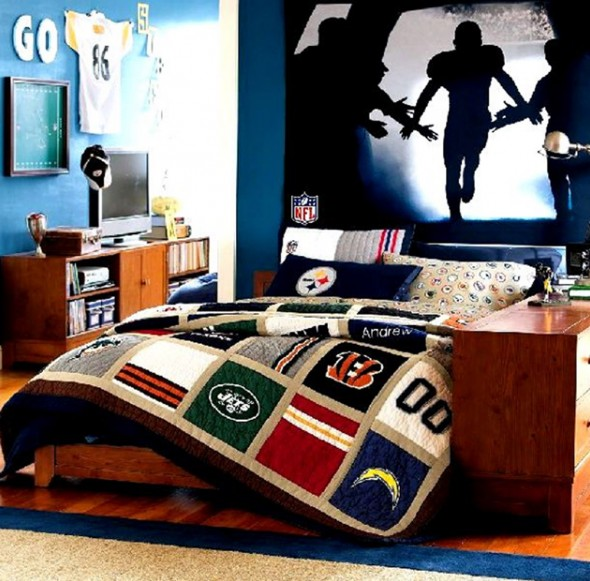 Boys bedroom designs ideas interior designs modern Cool teen boy room ideas