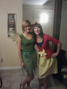 My lovely friend Katie Mae with her Tinkerbell costume.