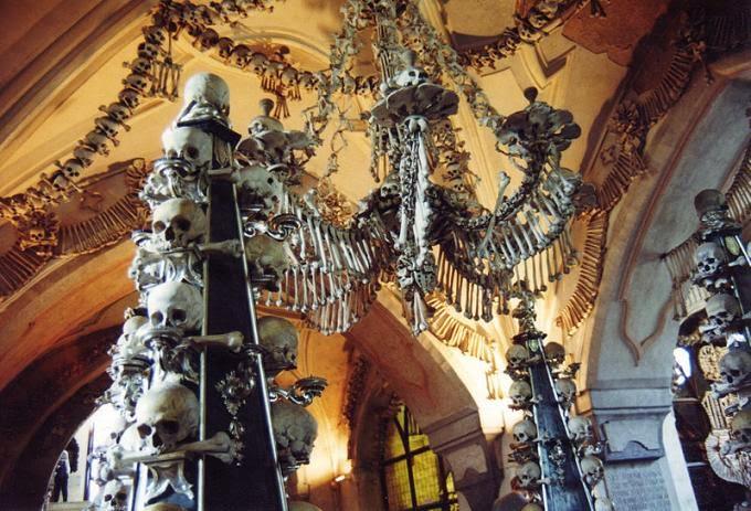 Nhà thờ xương sedlec - Cộng hòa Séc