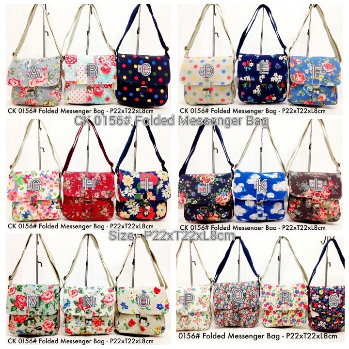 26b06ed8de Kipling Shop Indonesia  Cath Kidston 0156  Folded Messenger Bag - Rp ...