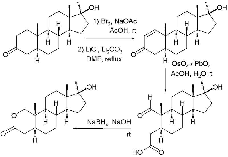 oxandrolone mechanism of action
