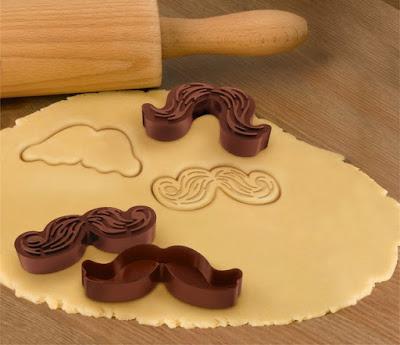 cortadores de biscoitos em formato de bigodes