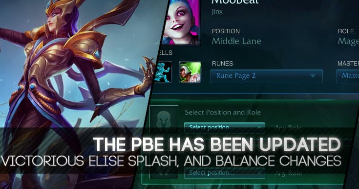 Surrender at 20: 10/25 PBE Update: Victorious Elise Splash ...