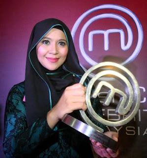 Syura atau nama sebenarnya Zuraidah Badron diumumkan MasterChef Selebriti Malaysia