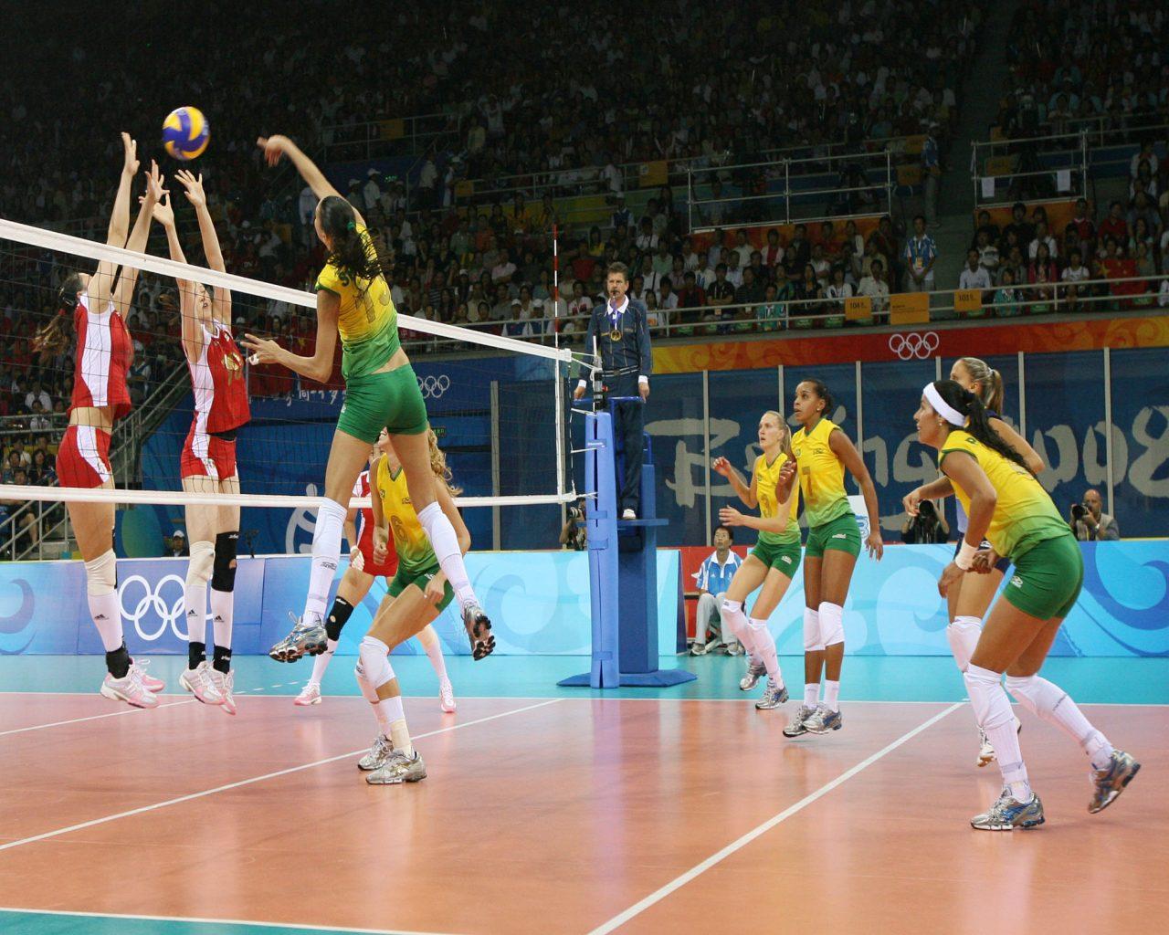 voley en las olimpiadas: