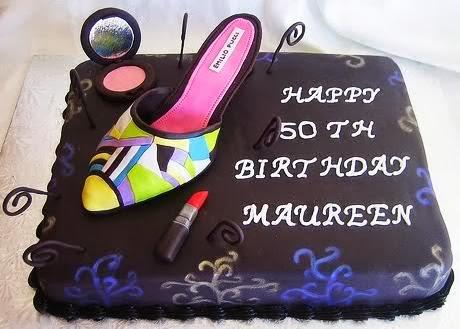 Fondant Shoe Cake Design