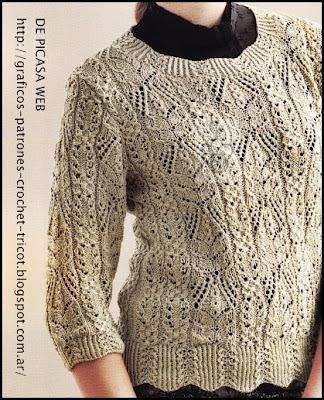 Tejidos a dos agujas tricot patrones graficos todo - Puntos de lana a dos agujas ...