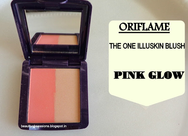 Oriflame The ONE Illuskin Blush Pink Glow - Review,Price & Swatches