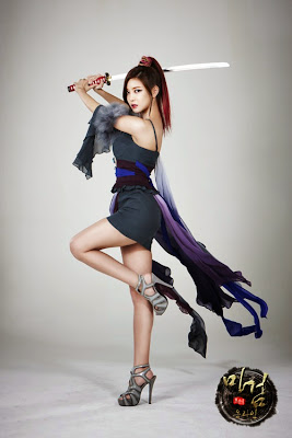 NS Yoon G for Sexy Warrior Korean Game